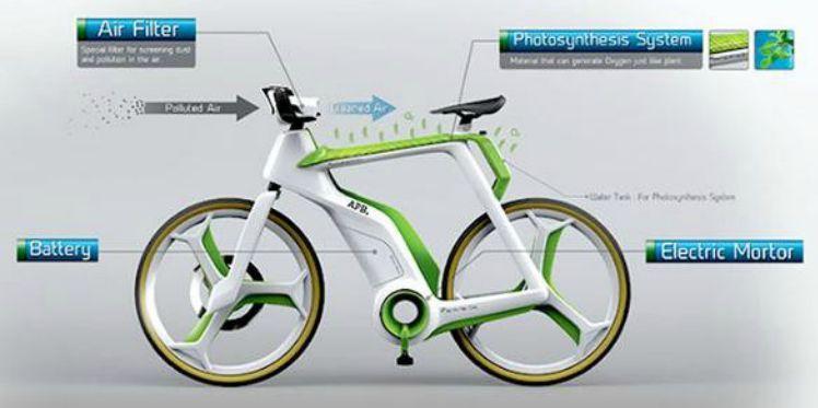 bicicletta anti-smog