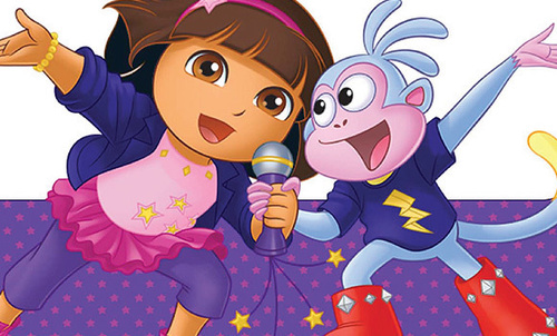 Dora-rockstar
