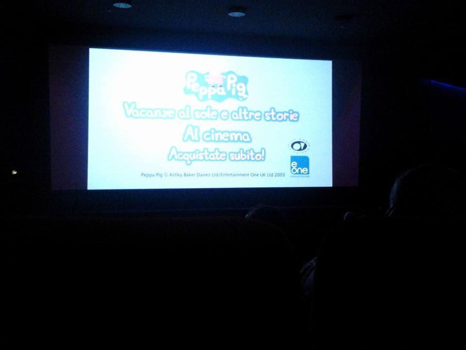 peppa pig al cinema