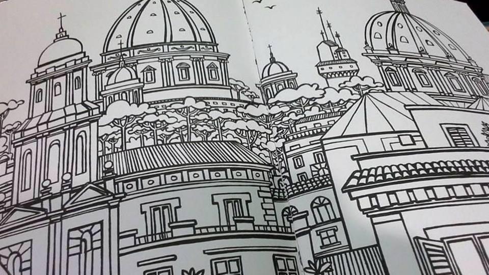 Album da colorare su roma le nuove mamme roma for Colosseo da colorare
