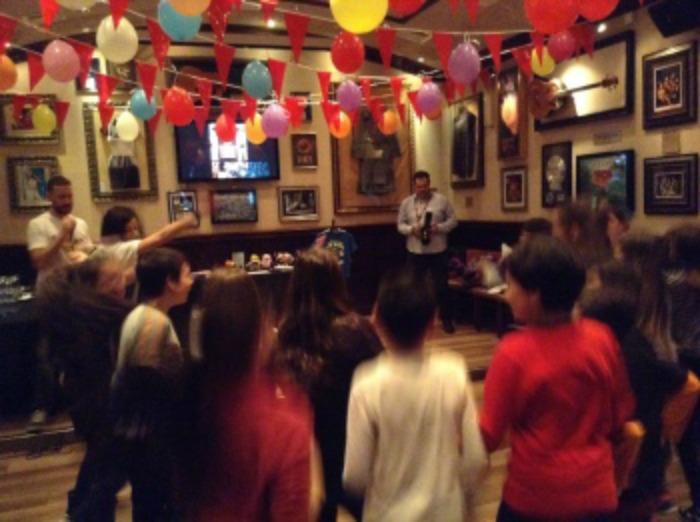 festa compleanno hard rock cafe