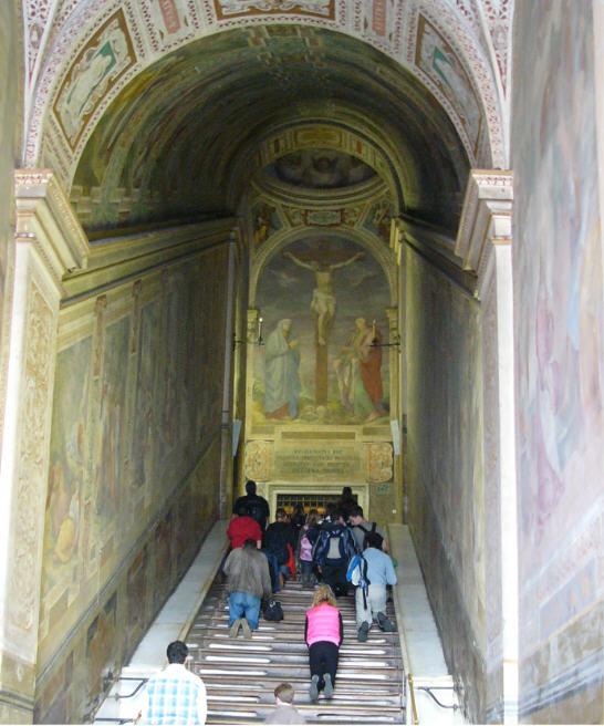 scala santa a roma