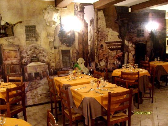 I ristoranti a roma per la marcuzzi ma non per tutti le for La vecchia roma ristorante roma
