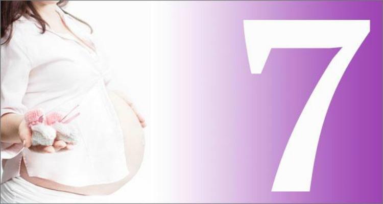 gravidanza - il settimo mese