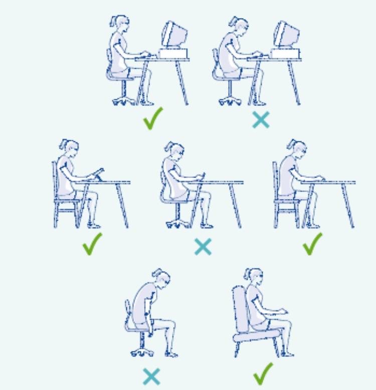 Sedie Da Ufficio Per Postura Corretta.Sedie Da Ufficio E Postura I Consigli De Le Nuove Mamme