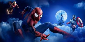 disneyland paris supereroi marvel