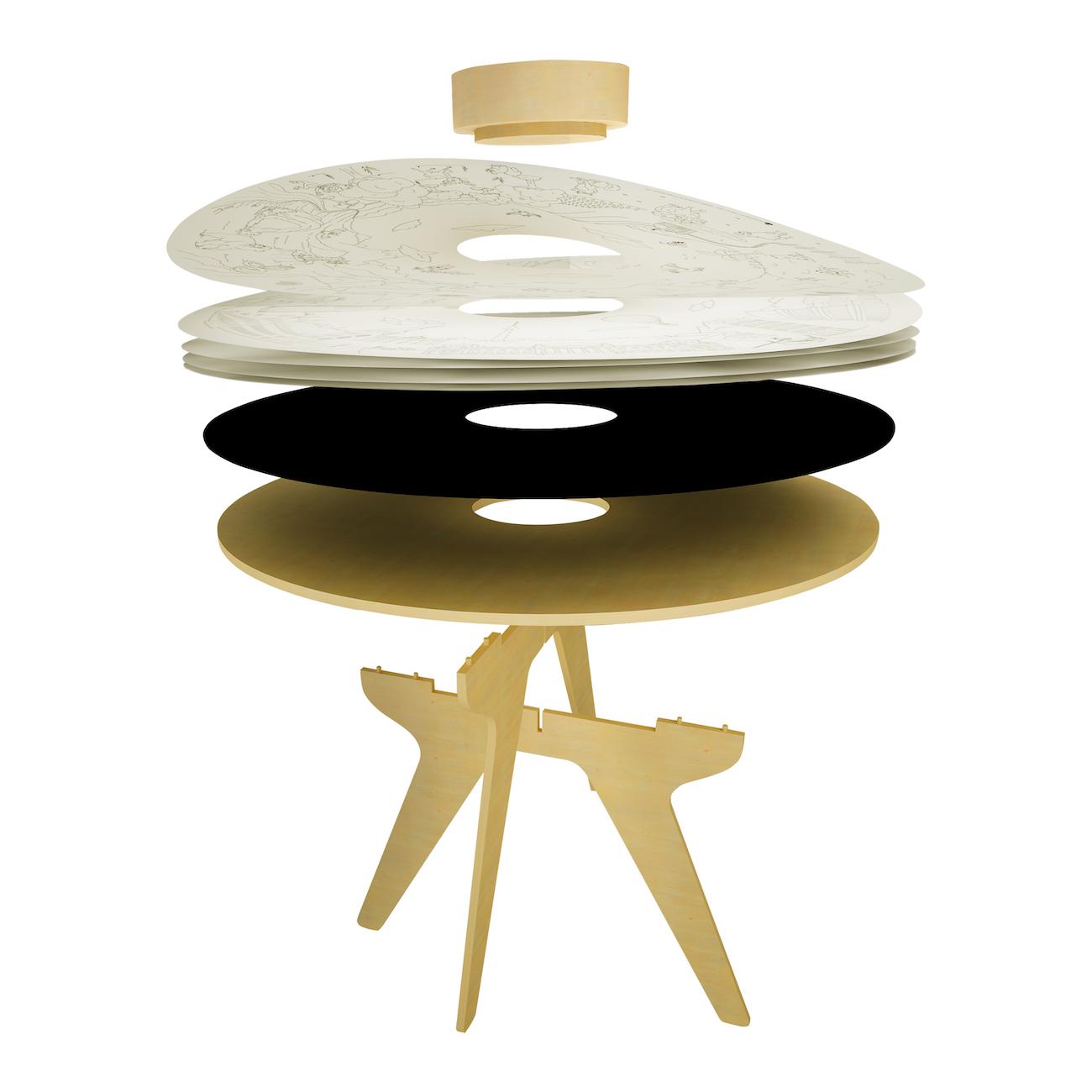 tavolo per disegno