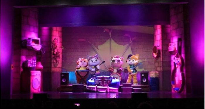 44 gatti live show band