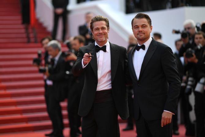 Brad Pitt Leo Di Caprio 1