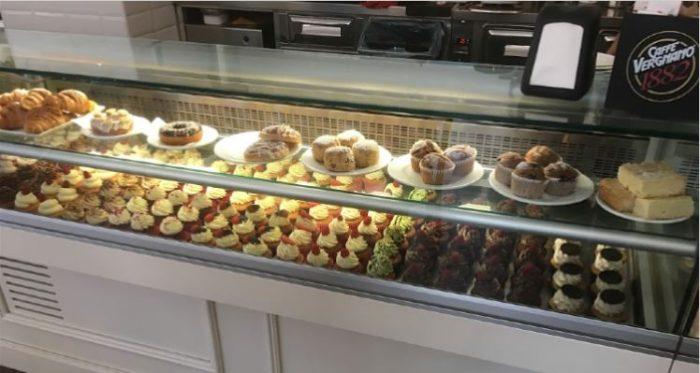 Bakery house cupcakes