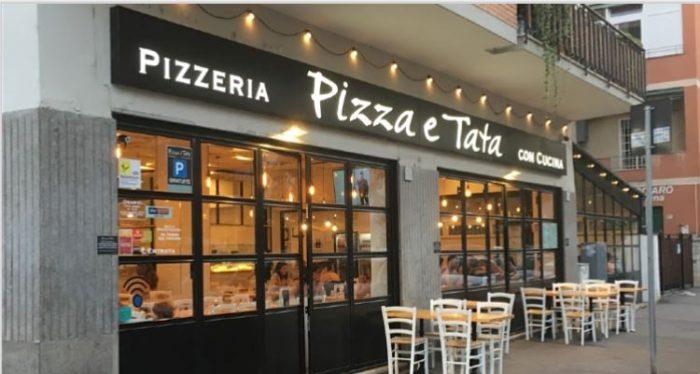 Pizza e Tata esterno