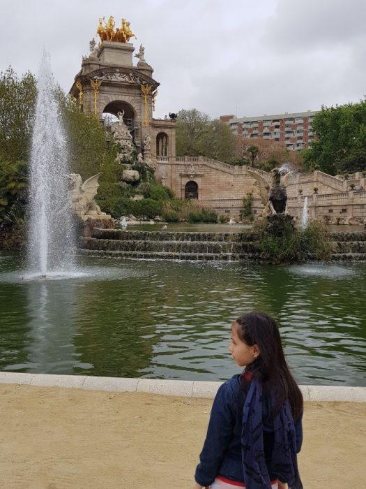 Barcellona Parc de la Ciutadela Cascata monumentale