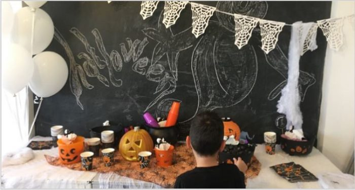 Brunch halloween allestimento