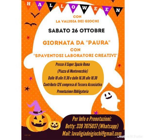 Cosa fare a ROma con i bambini weekend 26 27 ottobre