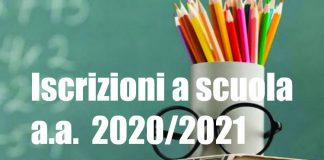 Iscrizione a scuola 2020 2021