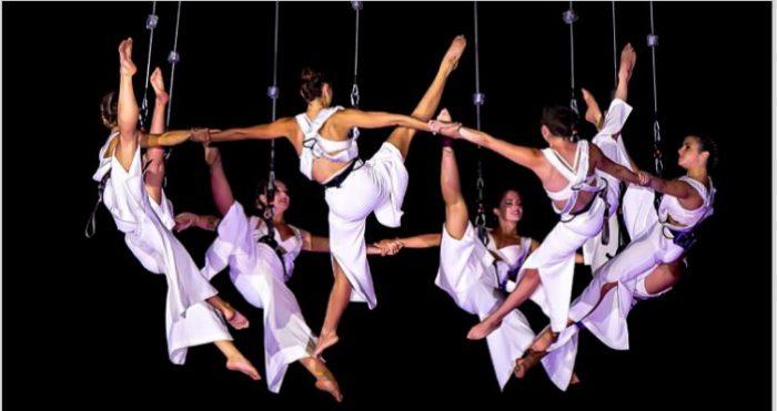coreografia festa roma