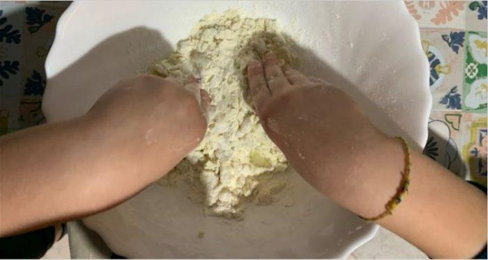 gnocchi di patate_impasto