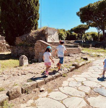 scavi archeologici di Ostia Antica