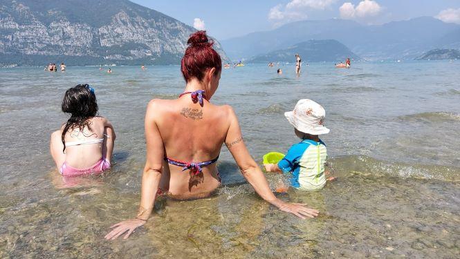 lago iseo con i bambini