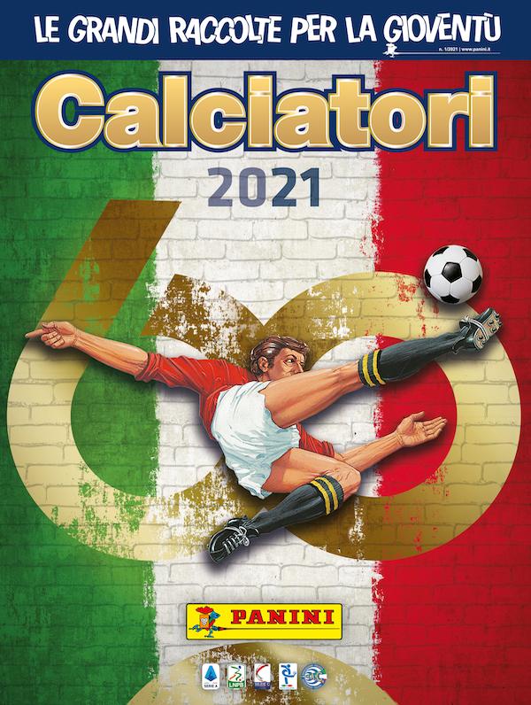 album di figurine Calciatori 2021