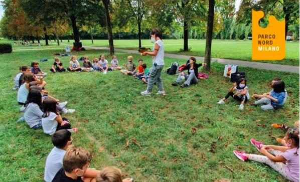 I centri estivi Koinè cooperativa sociale al parco Nord e a Chiaravalle